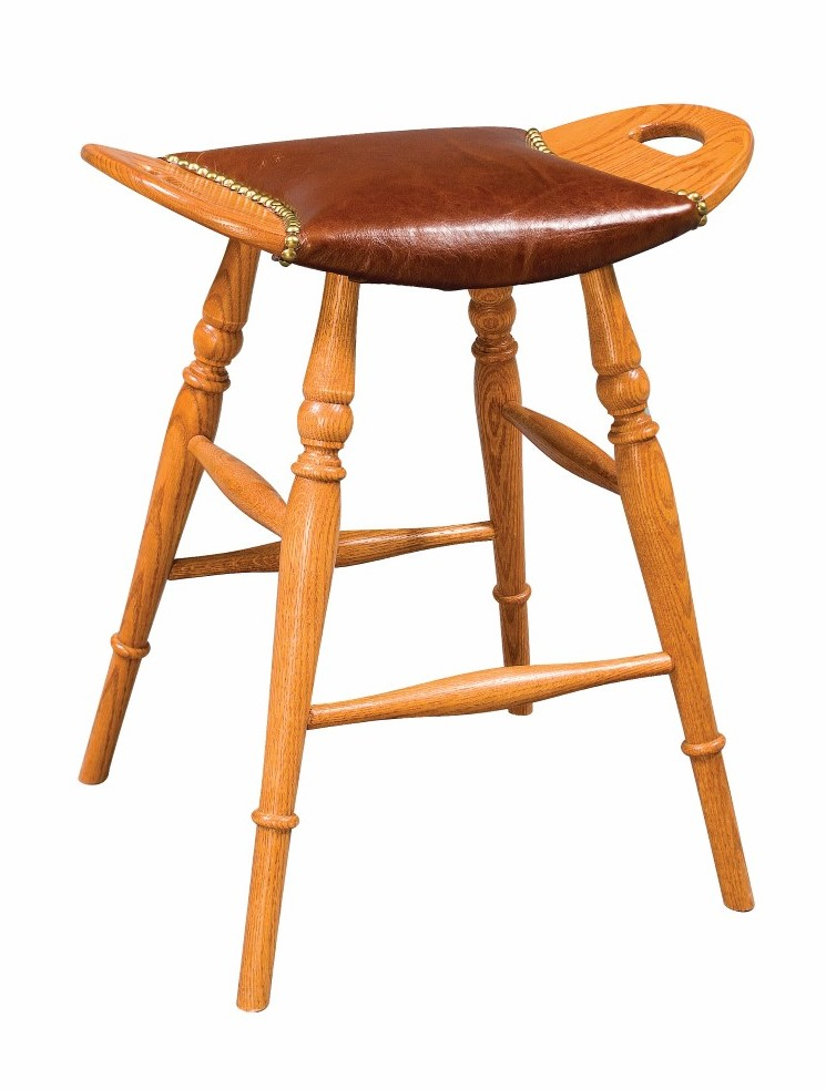Saddle Seat Stool Town Amp Country Furniture