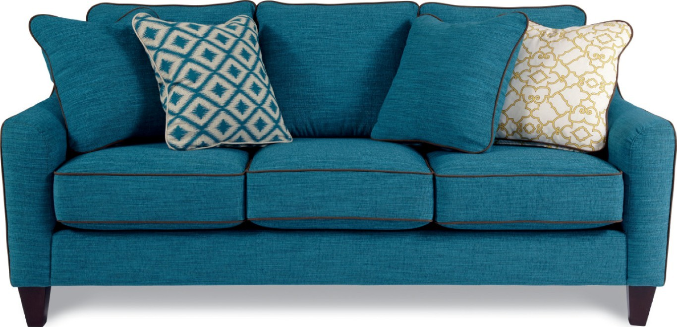 Turquoise sofas www roomservice tufted 007 sofa in turquoise textured thesofa - Turquoise sofa ...