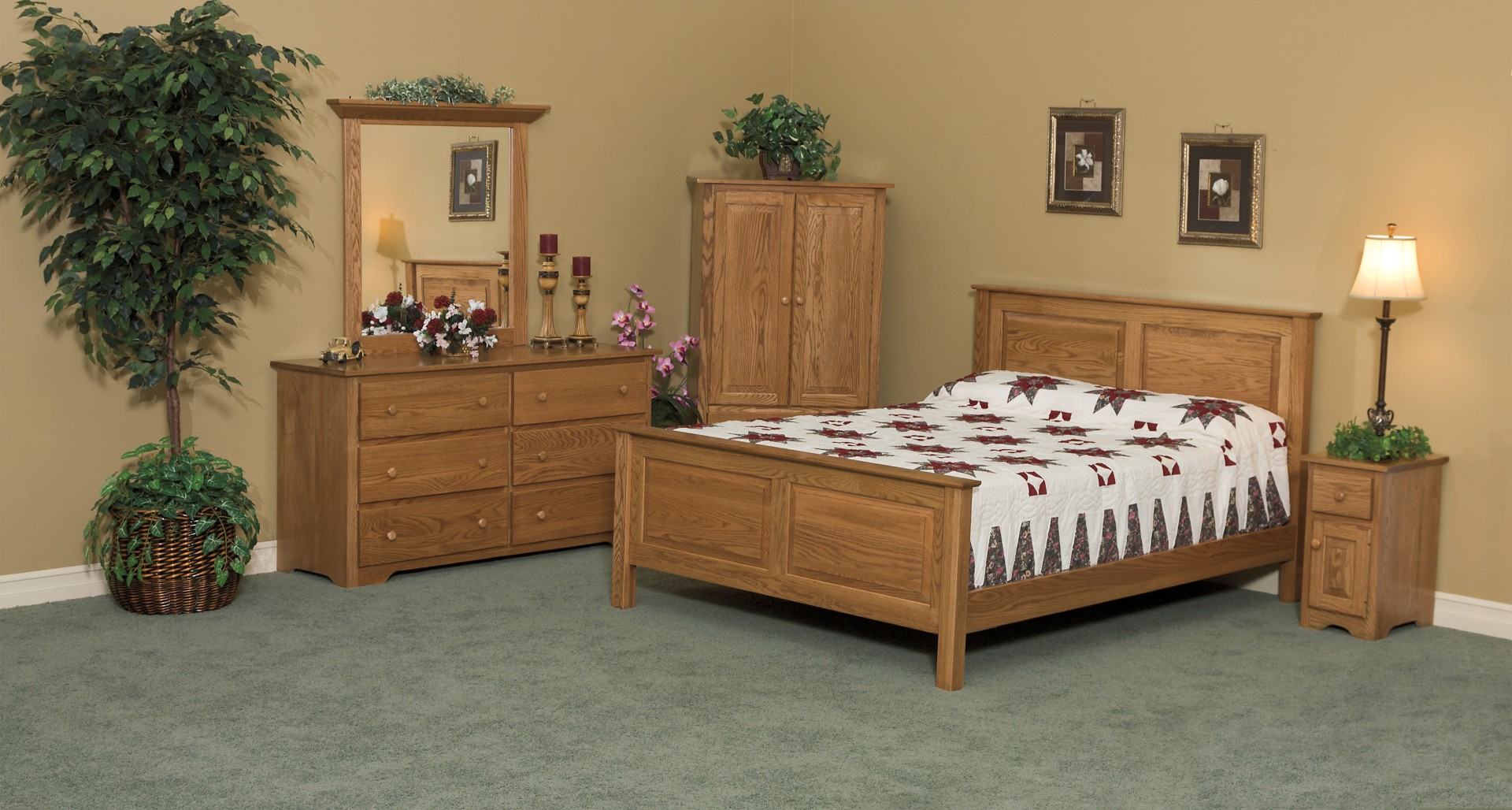 Shaker Bedroom Group Town Amp Country Furniture