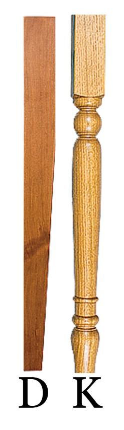 Dinette legs (Small)