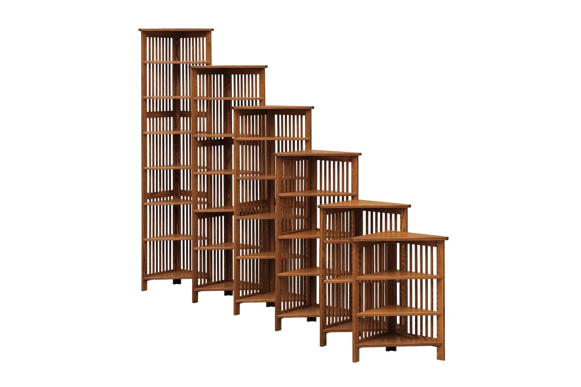 Country Mission Corner Bookcases Town Amp Country Furniture