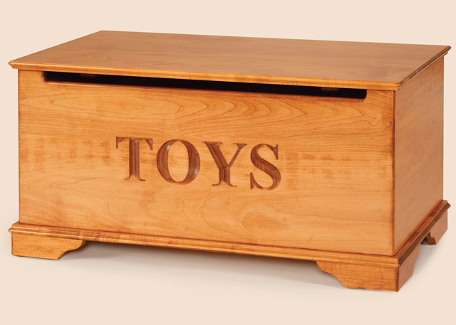 Woodwork Designs A Toy Chest PDF Plans