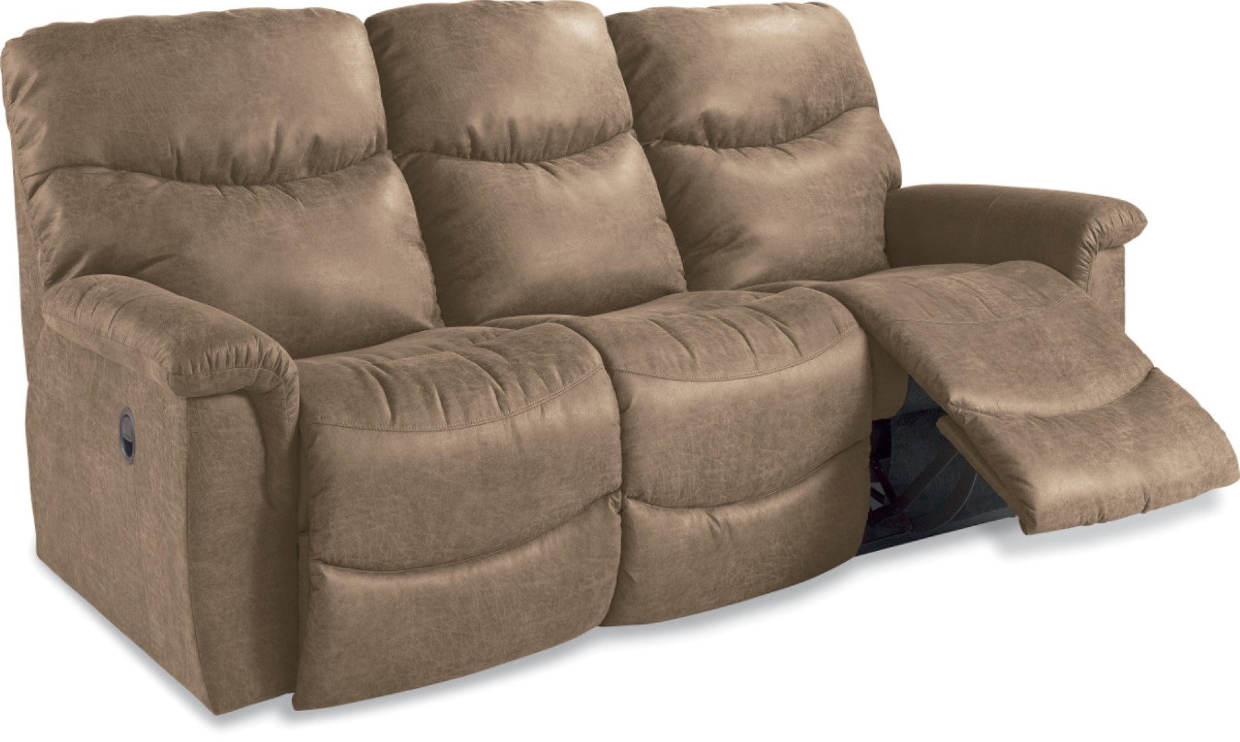 La z boy james reclining sofa town country furniture Loveseats with console