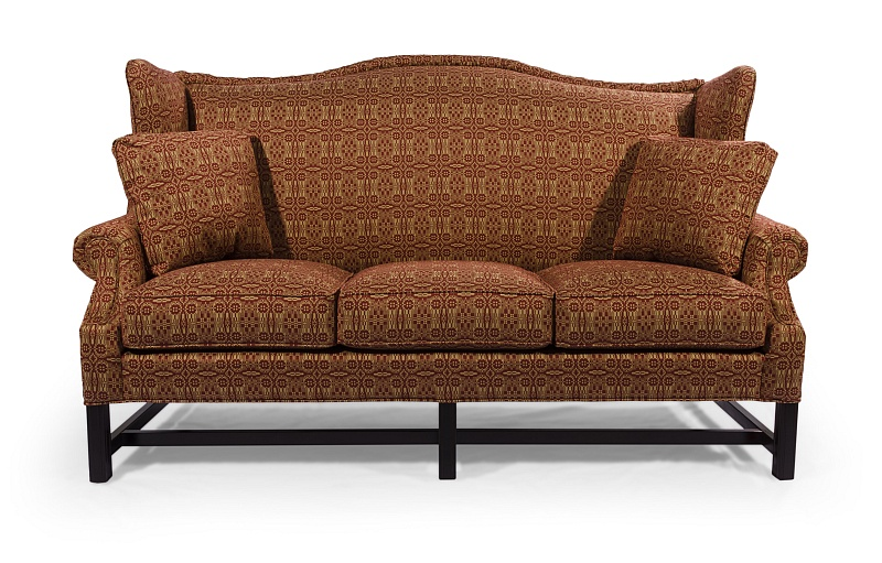 High Back Chippendale Sofa