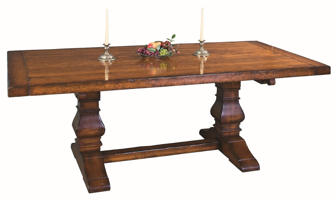 Tuscany Trestle Extension Table