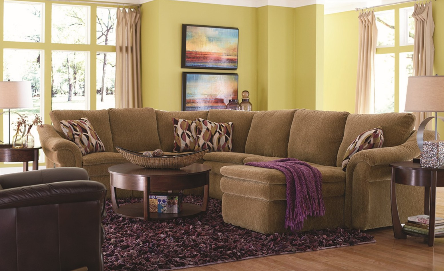 Devon Reclining Sectional - Town & Country Furniture