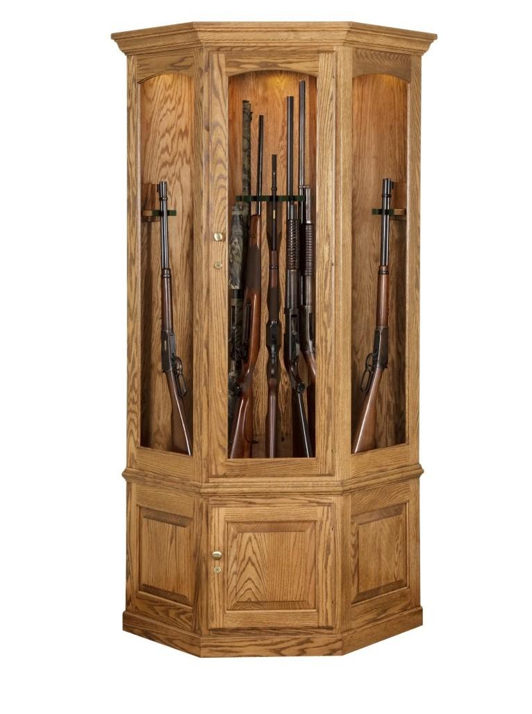 14 Gun Corner Gun Cabinet Town Amp Country Furniture