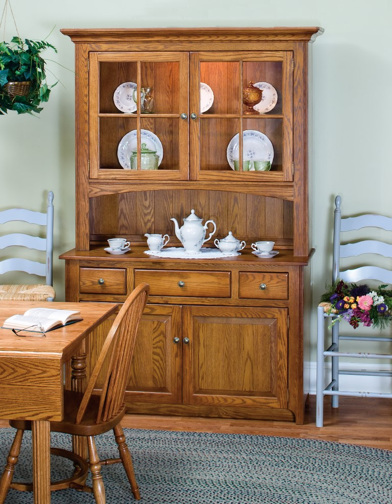 Shaker Two Door China Cabinet Town Amp Country Furniture