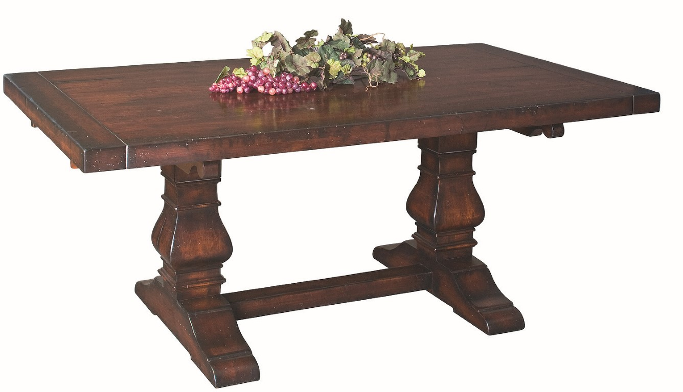Tuscany Trestle Extension Table Town Amp Country Furniture